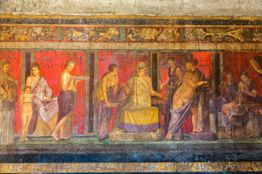 16 Pompeii Mural