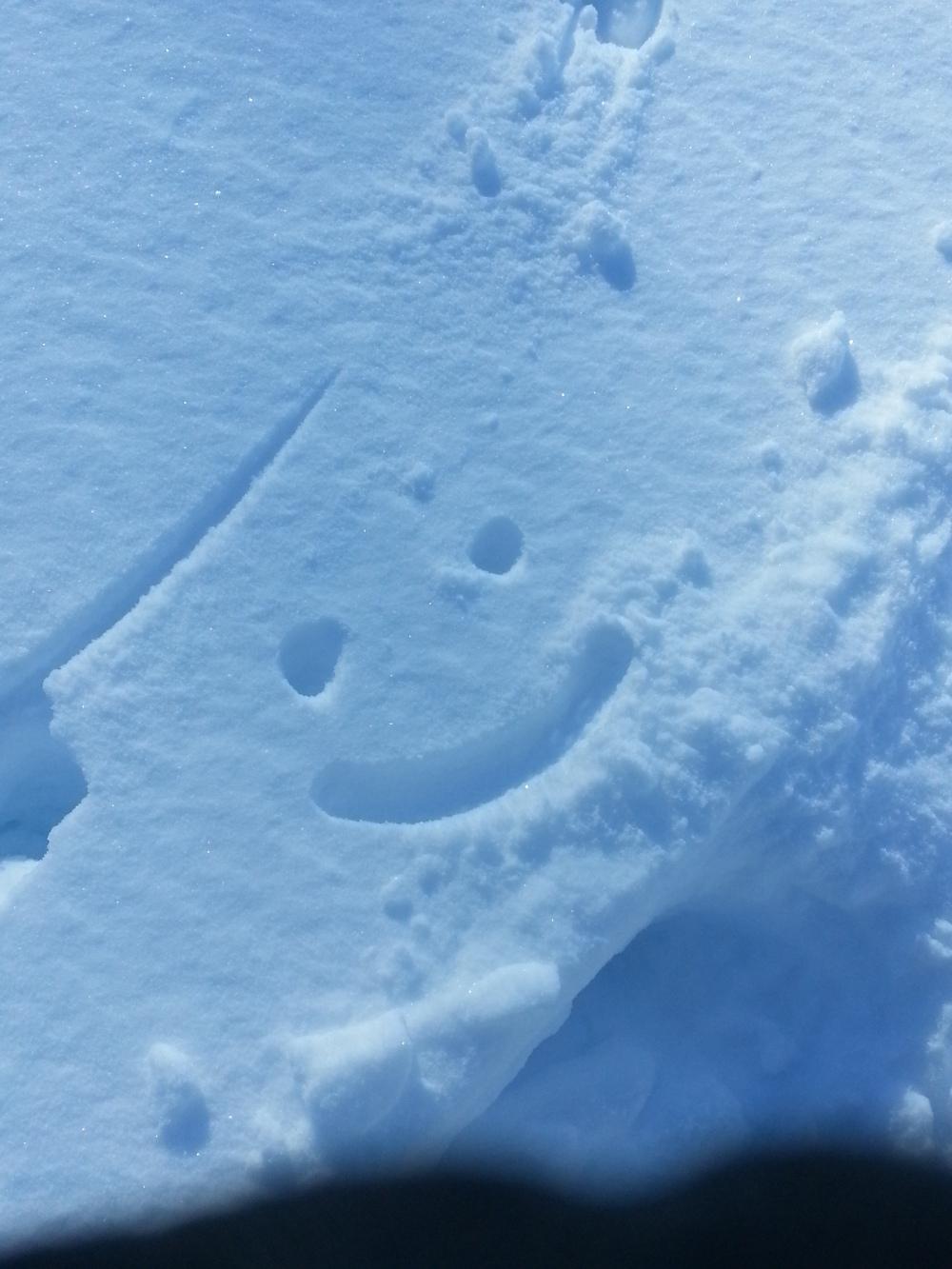 Smiley Face Snow